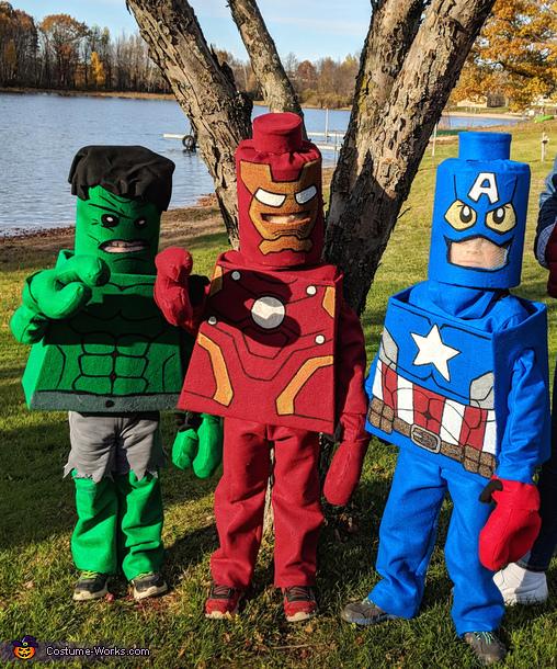 Lego Avengers Costume