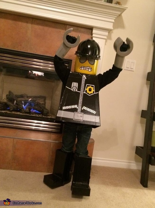 Lego Bad Cop Costume