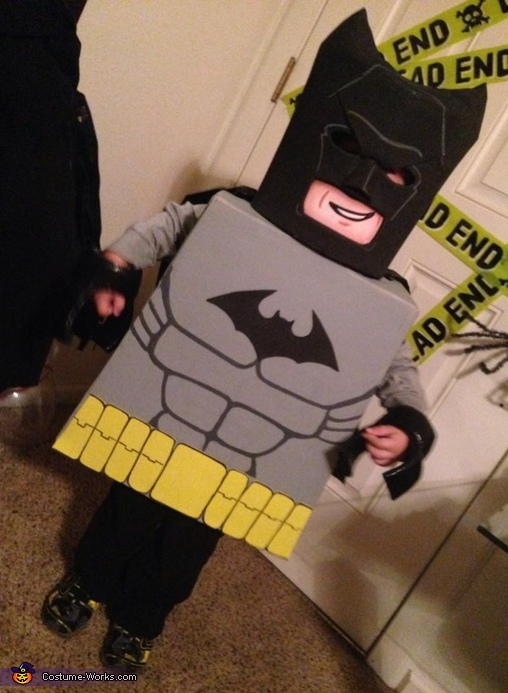 Lego Batman Homemade Costume