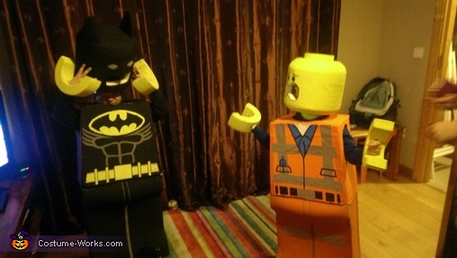 Lego Batman and Lego Emmet, Lego Batman and Lego Emmet Costume