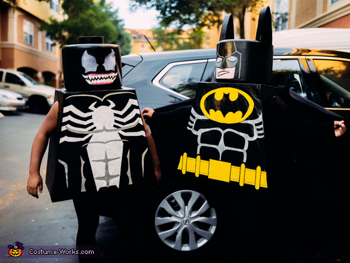 Lego Batman and Venom, Lego Batman and Lego Venom Costume
