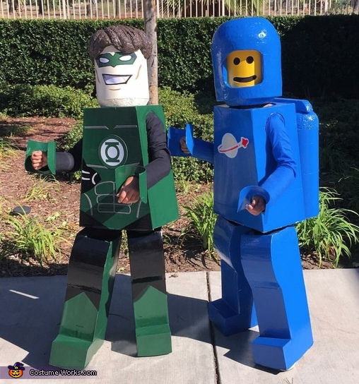 Lego Benny & Green Lantern Costumes