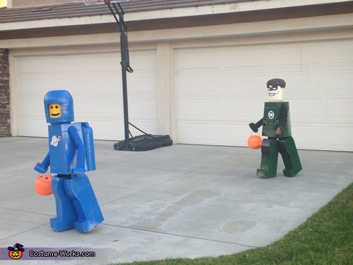 Lego Benny & Green Lantern Homemade Costumes