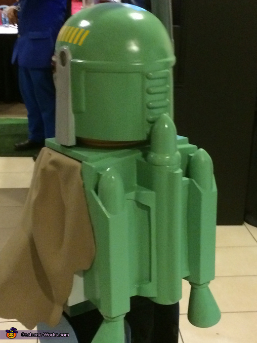Detail of Jetpack, Lego Boba Fett Costume