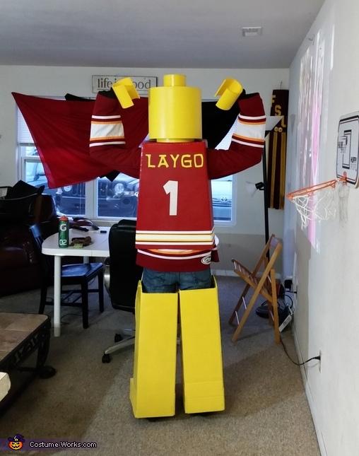 Lego Brutus Homemade Costume
