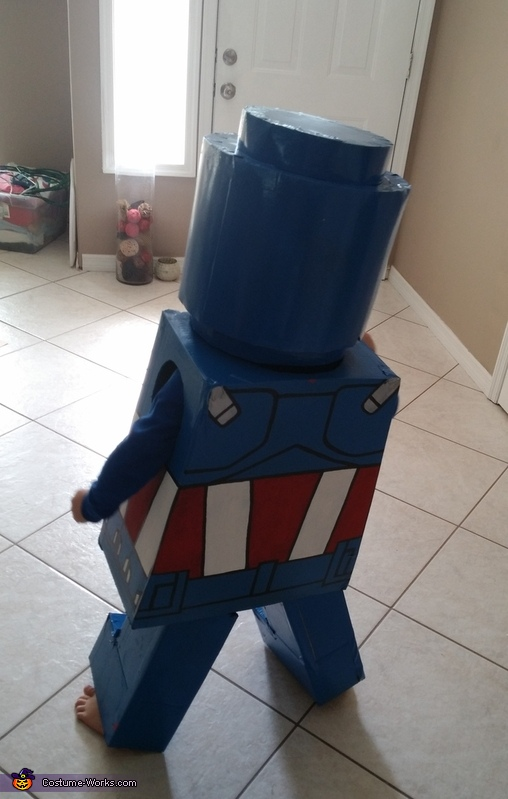 DIY Lego Captain America Costume