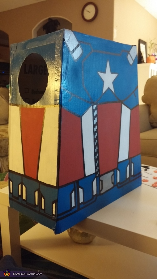 Lego Captain America Homemade Costume