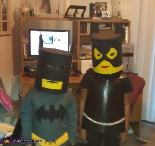 Lego Cat Women and Batman Costumes