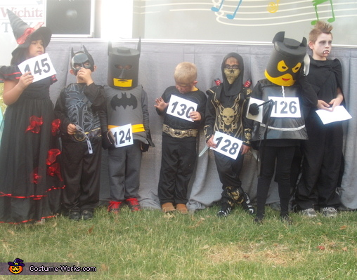 Lego, Lego Cat Women and Batman Costumes