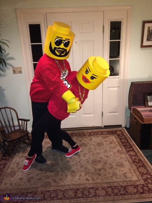 Lego Couple Homemade Costume