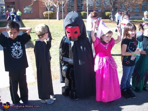 Lego Darth Maul, Lego Darth Maul Costume
