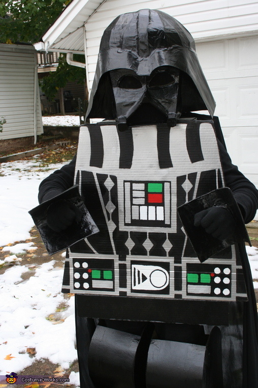 LEGO Darth Vader Homemade Costume