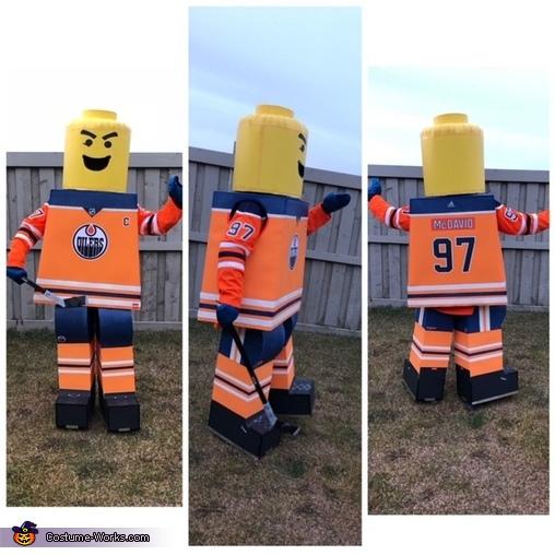 McDavid, Lego Edmonton Oilers Costume