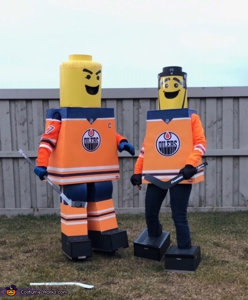 Wife and I, Lego Edmonton Oilers Costume