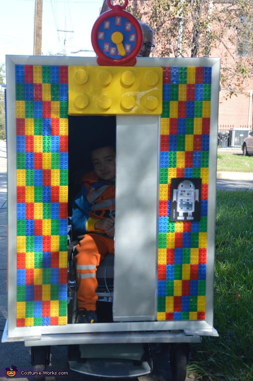 Lego Elevator Homemade Costume