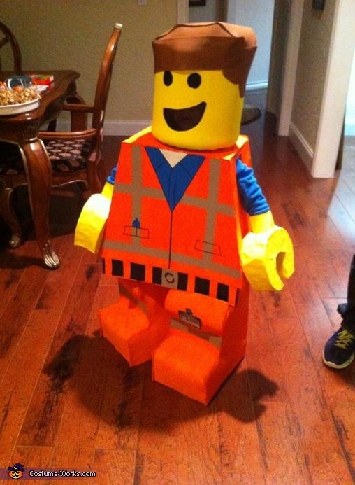 Lego Emmet Costume