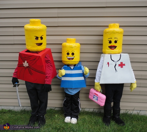 Lego Kids!, Lego Family Costume
