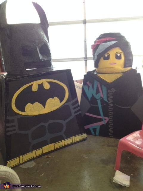waiting, Lego Family Costumes