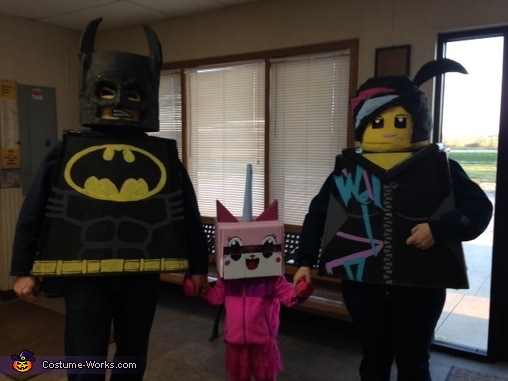 visiting Grandma, Lego Family Costumes