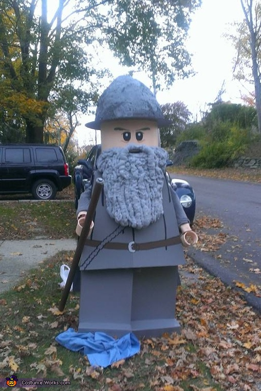 Lego Gandalf Costume
