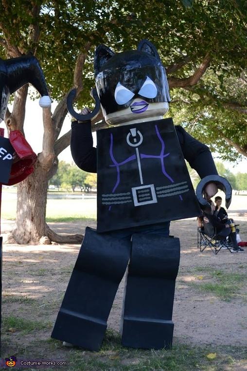 Lego Gotham City Sirens Homemade Costume