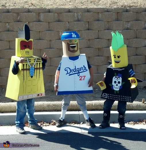 Lego Guys Costume