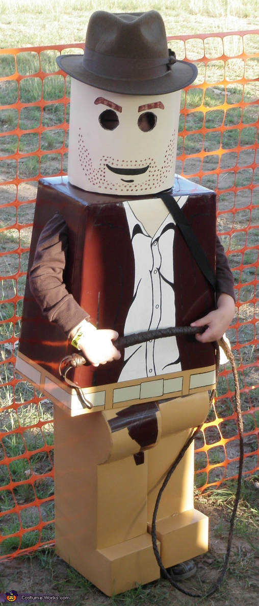 Lego Indiana Jones - Homemade costumes for boys