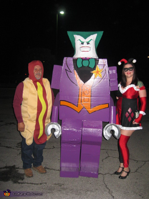 Joker and Harley Quinn, LEGO Joker Costume