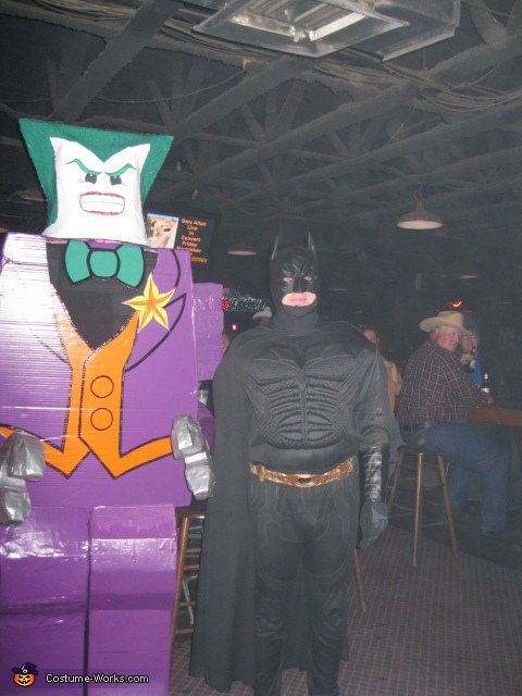 Joker VS Batman, LEGO Joker Costume