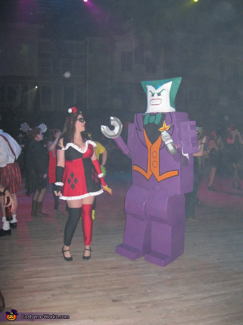 Joker Dancing with Harley Quinn, LEGO Joker Costume