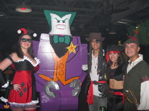 Joker Party, LEGO Joker Costume