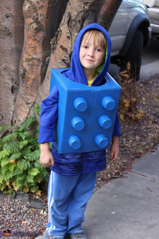 Lego Kid Costume