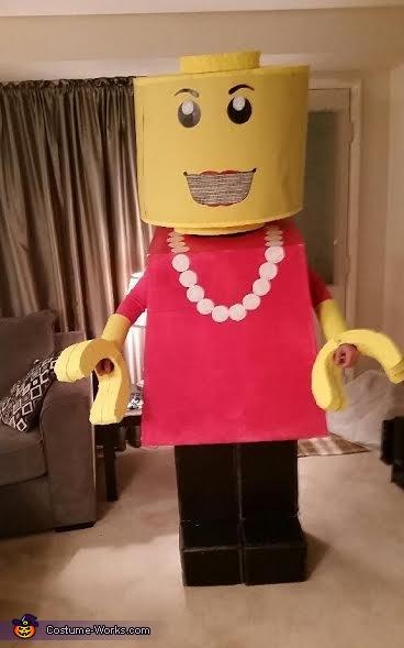 Lego Lady Costume