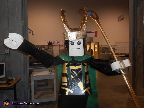 Lego Loki Costume