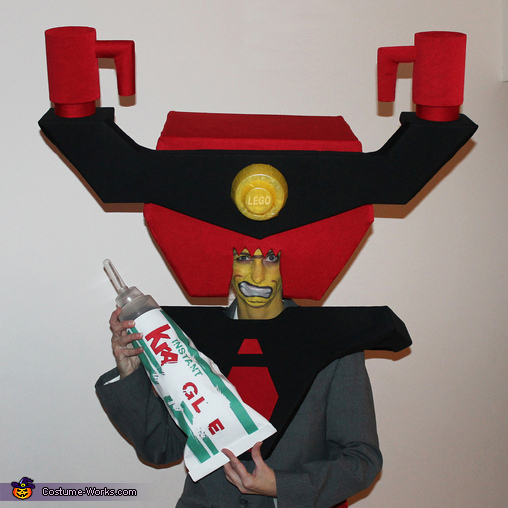 Close-Up, LEGO Lord Business Costume