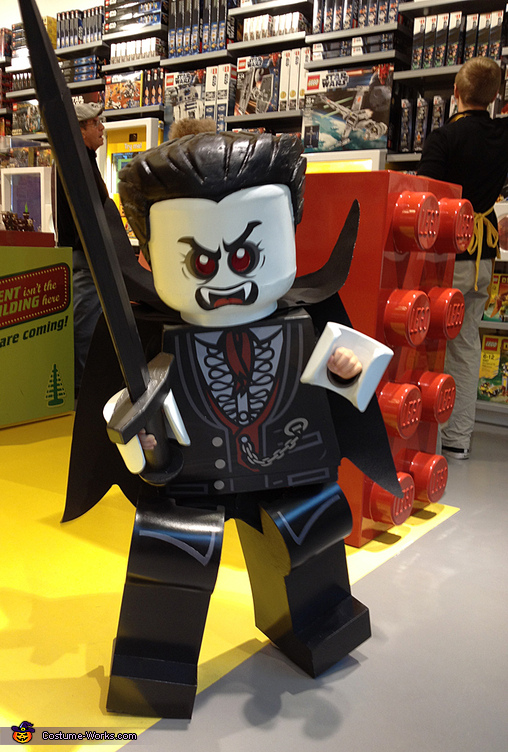 Lego Lord Vampyre - Homemade costumes for boys