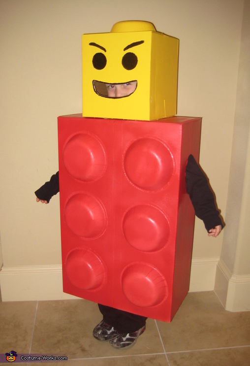 Lego Man Costume & Awesome Homemade Lego Man Costume