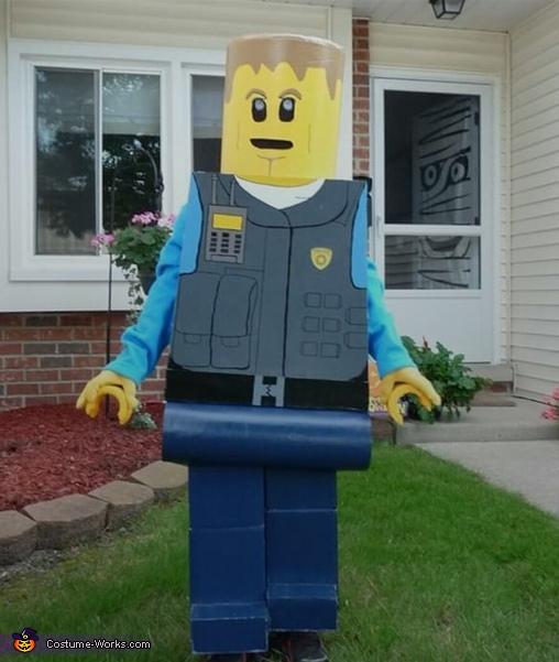 Lego Man Chase McCain Costume