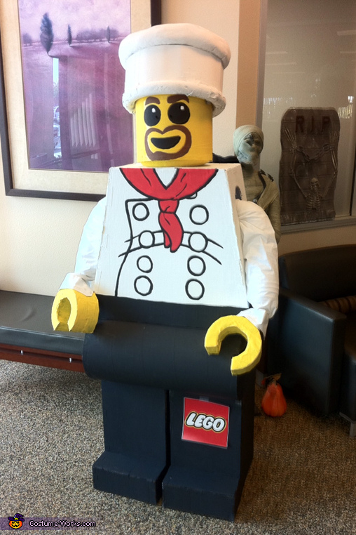 Lego Man Chef Costume
