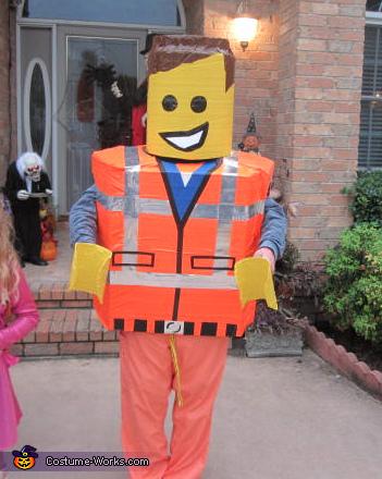 Lego Man Emmet Costume