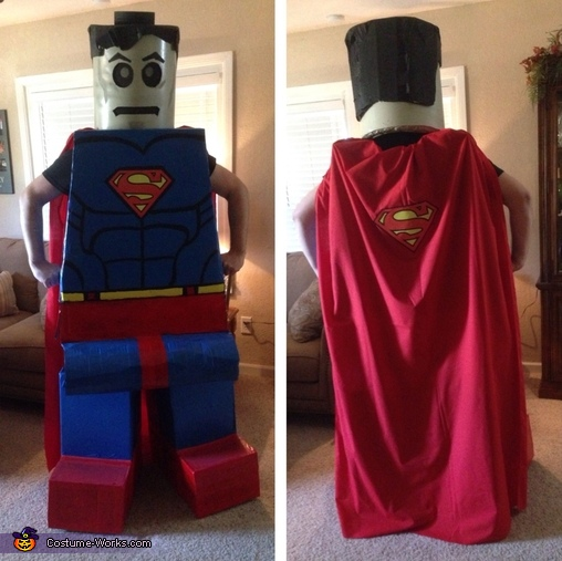 Lego Man of Steel Costume