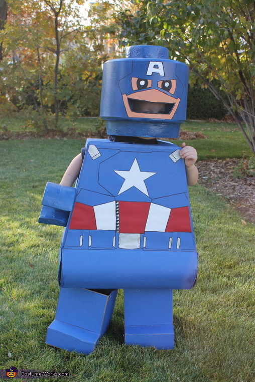 DIY Lego Men Costumes
