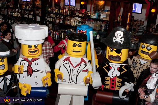 Lego Men Costumes