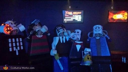 Peekaboo!, Amazing Lego Men Horror Villians Costume