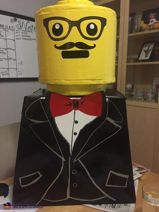 LEGO Mini-Fig Homemade Costume