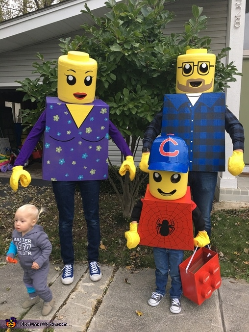 LEGO Mini Figure Family Costume