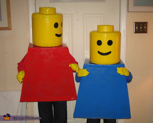 Hey, this was my idea!, Lego Mini Figures Costume
