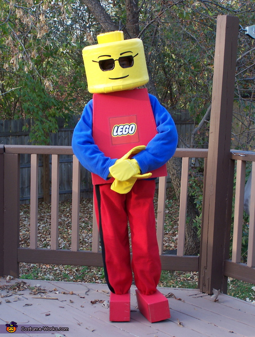 Lego minifigure costume idea for 9 year old boy halloween costume ideas
