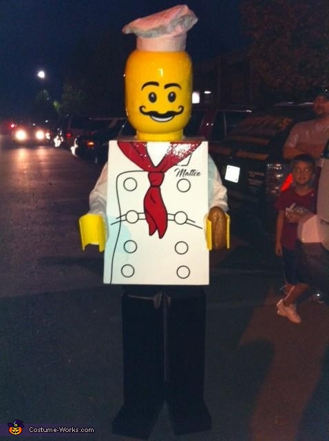 Lego Minifigure Chef Costume
