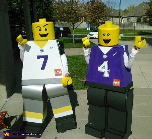 Lego minifigures on parade, Lego Minifigures Costume